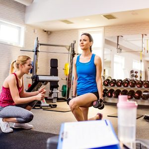 Diverse Trainers Fitness Instructor